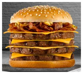 Quintuple Whopper Burger King Emb...