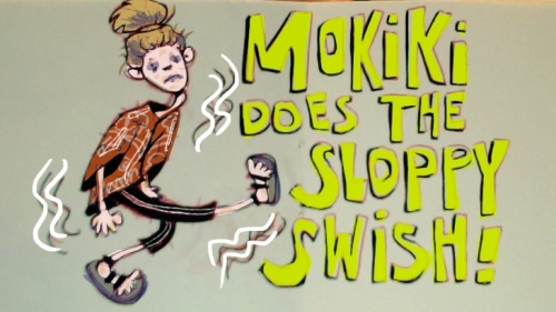 Mokiki does the Sloppy Swish