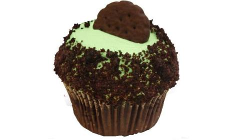 Girl Scout Thin Mints® Cupcake